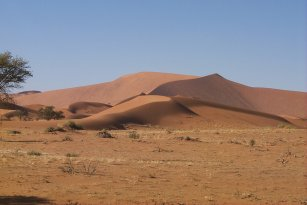Picture of the Namib desert